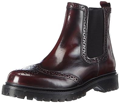 best service 9376f 28c65 Bronx Brifka-chunkyX, Damen Chelsea Boots, Rot (34 Bordeaux ...