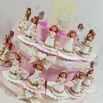 Gastgeschenk Kommunion Kuchen Mit Madchen Clip Botschaft