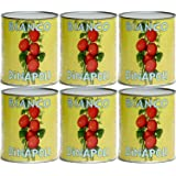(Pack of 6 ) Bianco DiNapoli California Peeled Organic Whole Tomatoes 28 oz Cans