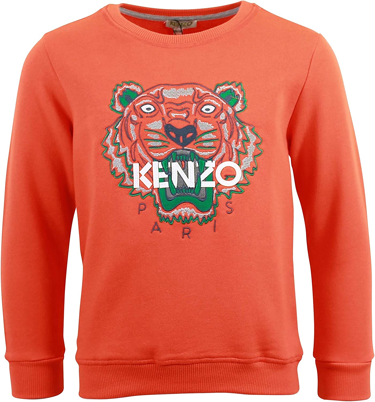 Sweat Kenzo Kids Tigre Orange - Junior: Amazon.