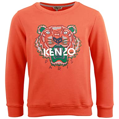 Sweat Kenzo Kids Tigre Orange - Enfant  Amazon.fr  Vêtements et ... e705b6e9f17