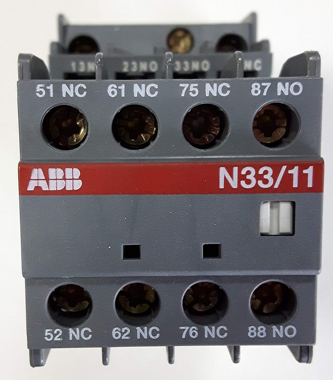 ABB n33//11 230 V Hilfsschütz Sécurité Relais Protège 1sbh141001r8039 NEUF #228