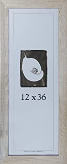 product image for Frame USA Farmhouse Series 12x36 Barnwood Picture Frames (White)