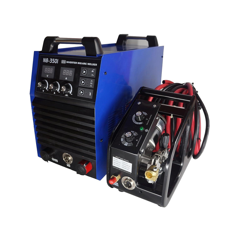 Hitbox Inverter Mig wleder NBC 350 a 380 V DC potentes ciclo de alto rendimiento Mig Arc sudor eléctrica con mb24-b antorcha: Amazon.es: Bricolaje y ...