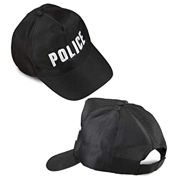 WIDMANN 03606 Policía Gorra Ajustable ? Negro: Amazon.es: Juguetes ...