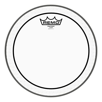 Amazon Com Remo Pinstripe Clear Drum Head