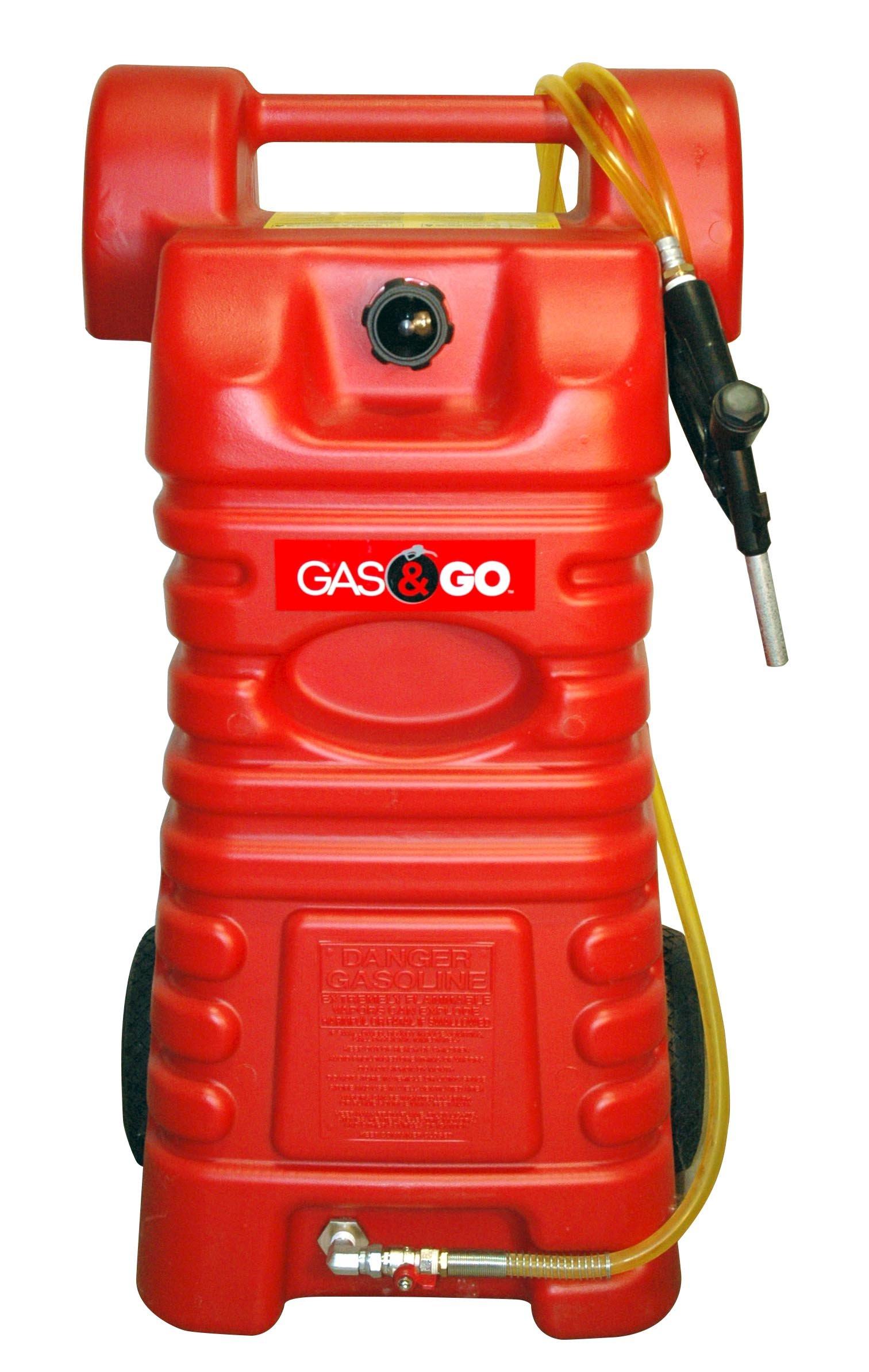 Gas & Go GG-25PFC Poly Fuel Cart