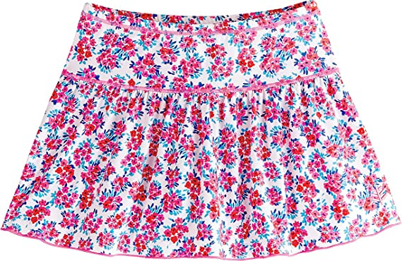 1140fb35fa Coolibar UPF 50+ Girls' Wavecatcher Swim Skirt - Sun Protective (X-Small
