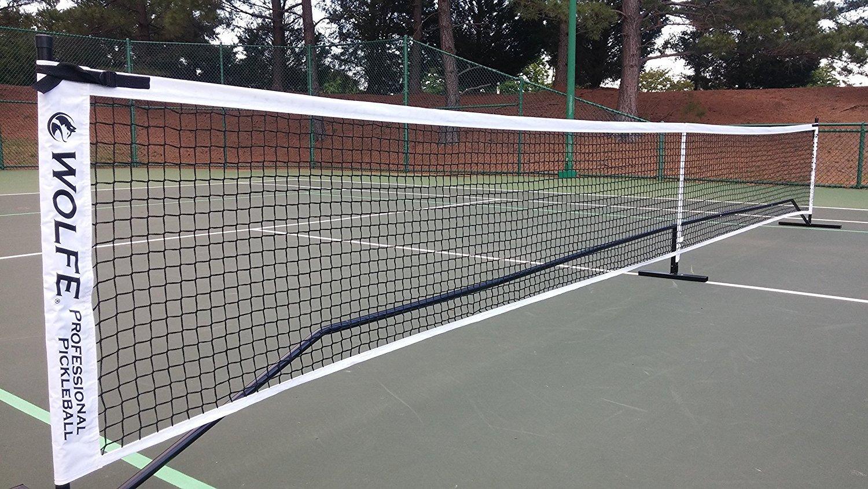 Wolfe Sports Portable Pickleball Net (Tournament)