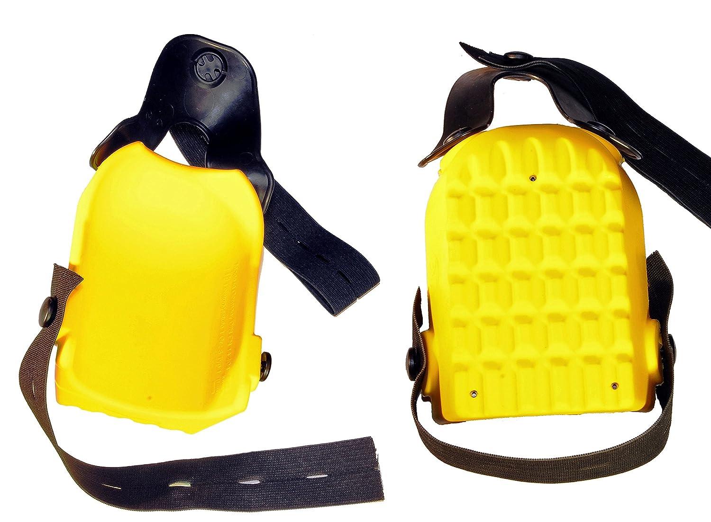 Kronen Hansa Knieschoner 'Kniefix-Super plus' Kastenform, gelb, 507002Z