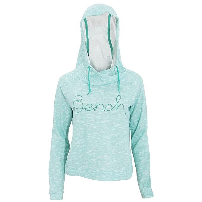 Bench - Sudadera con capucha modelo Buff Fine para mujer (Pequeña (S)/