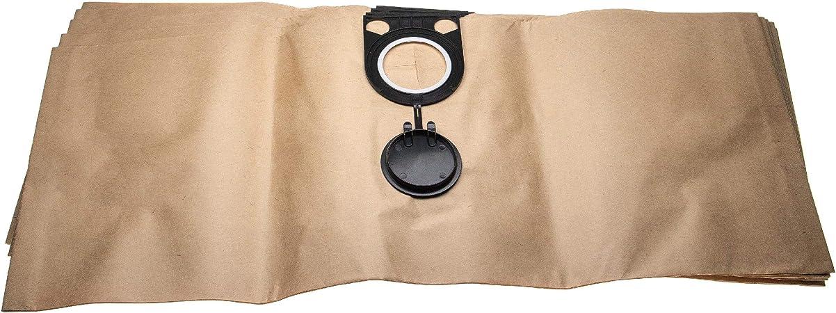 631757 5x bolsas de papel para Metabo 6.31757