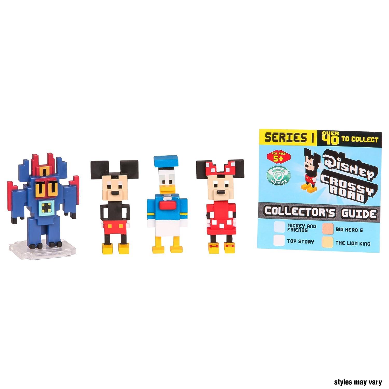 Crossy Road Disney Mini Figures 4 Pk