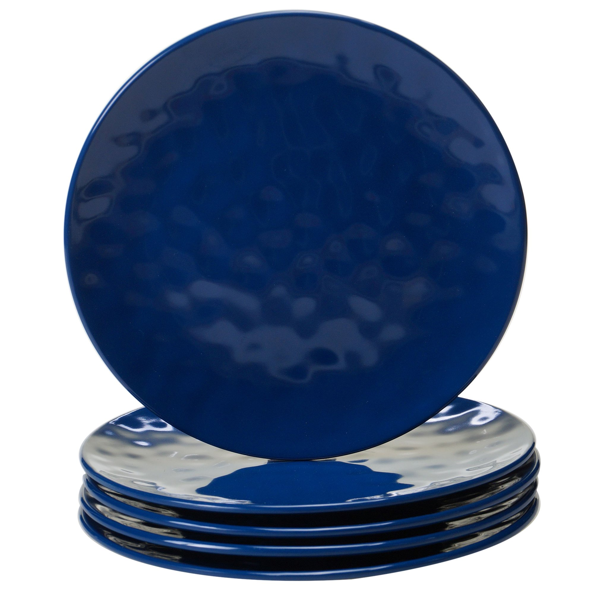 Certified International 9'' Salad/Dessert Plate (Set of 6), Cobalt Blue