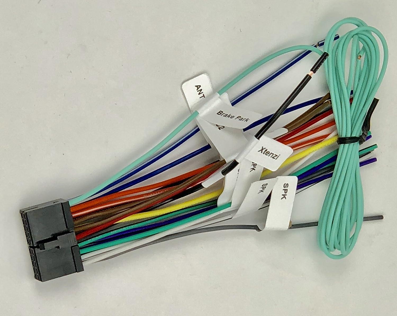 amazoncom xtenzi 20 pin power wire harness for dual xdvd236bt