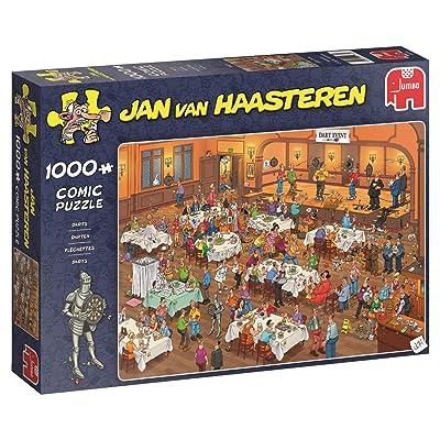 Jan van Haasteren - Darts - 1000 Teile Puzzle: Toys & Games