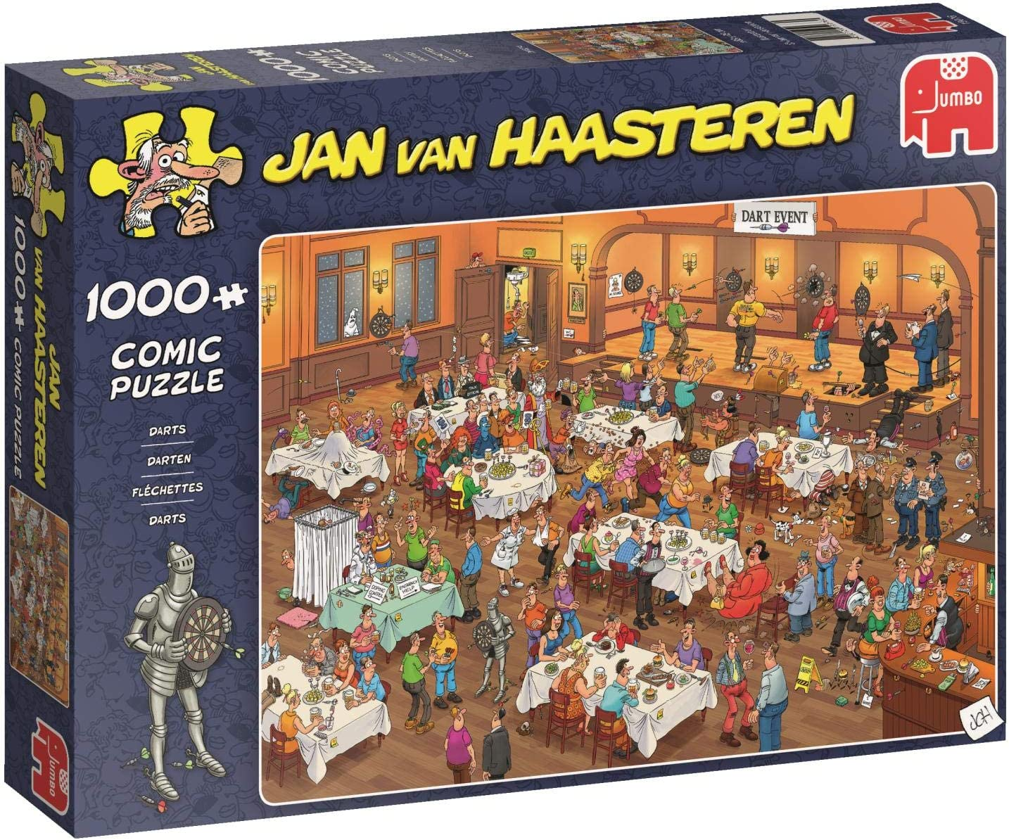Jan van Haasteren - Darts - 1000 Teile Puzzle