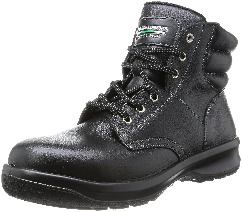[ミドリ安全] 安全靴 中編上 G3220 B005AMLX86 ブラック 27.0 cm