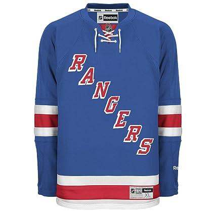 half off 5e400 07270 New York Rangers Reebok Premier Replica Home NHL Hockey Jersey