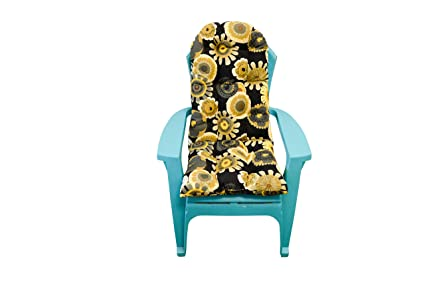 Amazoncom Resort Spa Home Decor Outdoor Tufted Adirondack Chair
