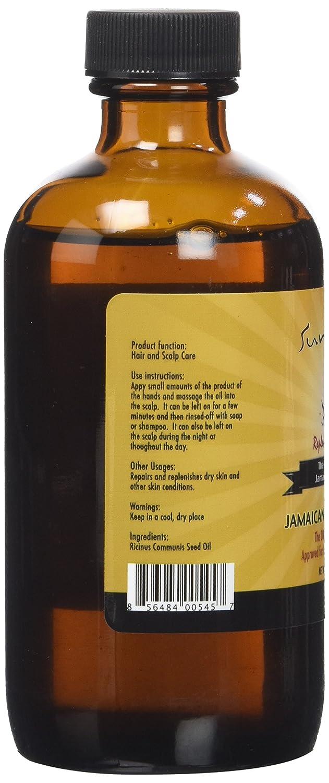 SUNNY Isle Jamaican Black aceite de ricino, 4 x 178 ml: Amazon.es: Belleza