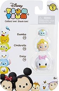 Tsum Tsum 3-Pack Figures: Daisy/Cinderella/Dumbo