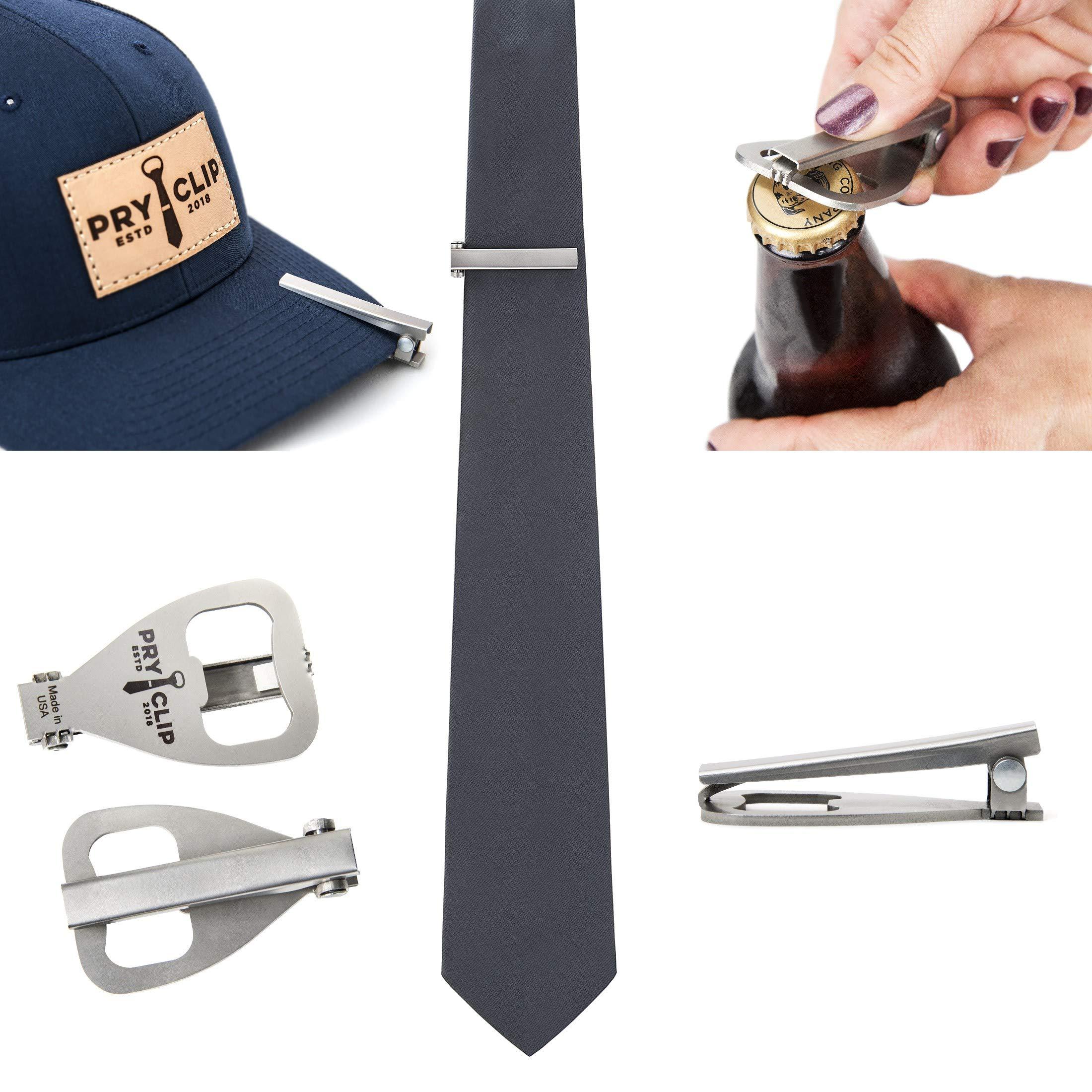 PRYCLIP - Tie Clip Bottle Opener, Laser Engraved, Gift Bag Included by PRYCLIP (Image #6)