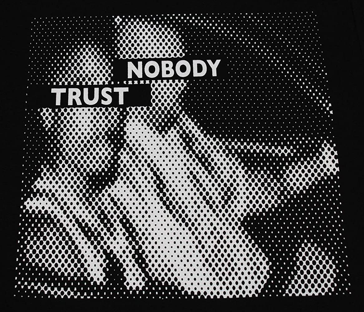 Amazon Com Tees Geek Trust Nobody Men S T Shirt Small Black Clothing The notorious big) (remix by tupac thug theory) ✪ you are a producer and you want that. tees geek trust nobody men s t shirt
