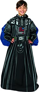 """Disney's Star Wars, """"Fleet Commander"""" Youth Comfy Throw Blanket with Sleeves, 48"""" x 48"""", Multi Color"""