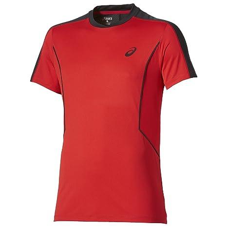 ASICS - Padel Top SS, Color Rojo, Talla M: Amazon.es: Deportes y ...