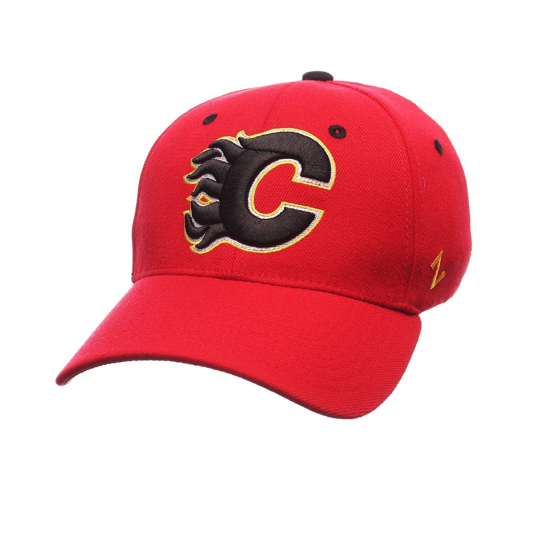 Red NHL Zephyr Calgary Flames Mens Breakaway Hat X-Large