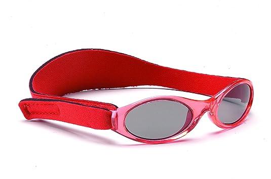 26095e0558ee90 Yoccoes - Lunettes de Soleil - Bébé (Fille) 0 à 24 Mois Red Sunglasses Pink  Shoes - - Red Sunglasses Pink Shoes, 6-12 Mois  Amazon.fr  Chaussures et  Sacs
