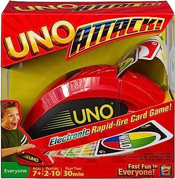 UNO Attack Card Game by Mattel: Amazon.es: Juguetes y juegos