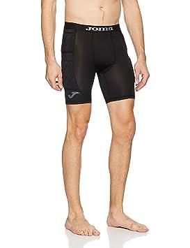 Joma Short Protec Portero Negro Pantalón Interior, Hombre: Amazon.es: Deportes y aire libre