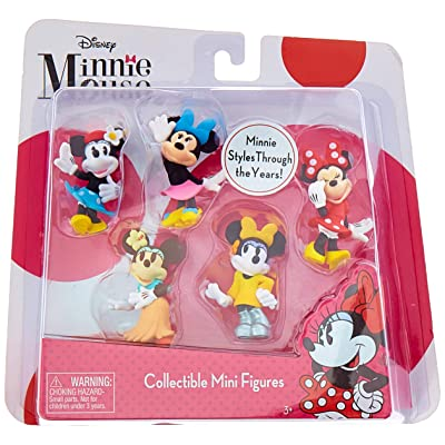 Just Play Minnie Mini Figure Set (5 Pack): Toys & Games
