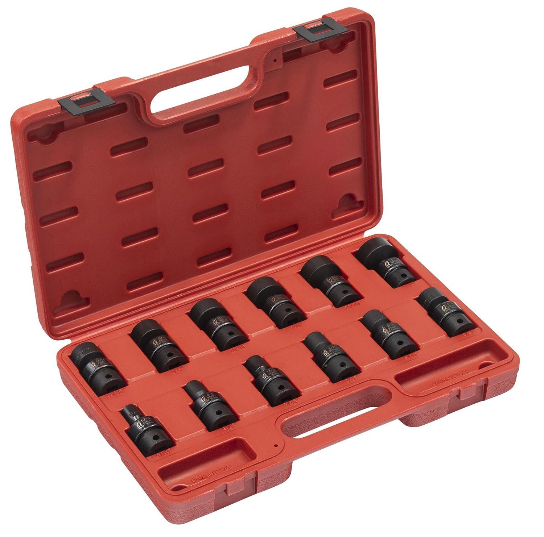"Signet S12392 3//8/"" Dr Socket Set 12pc On A Rail 8-19mm 12 point"