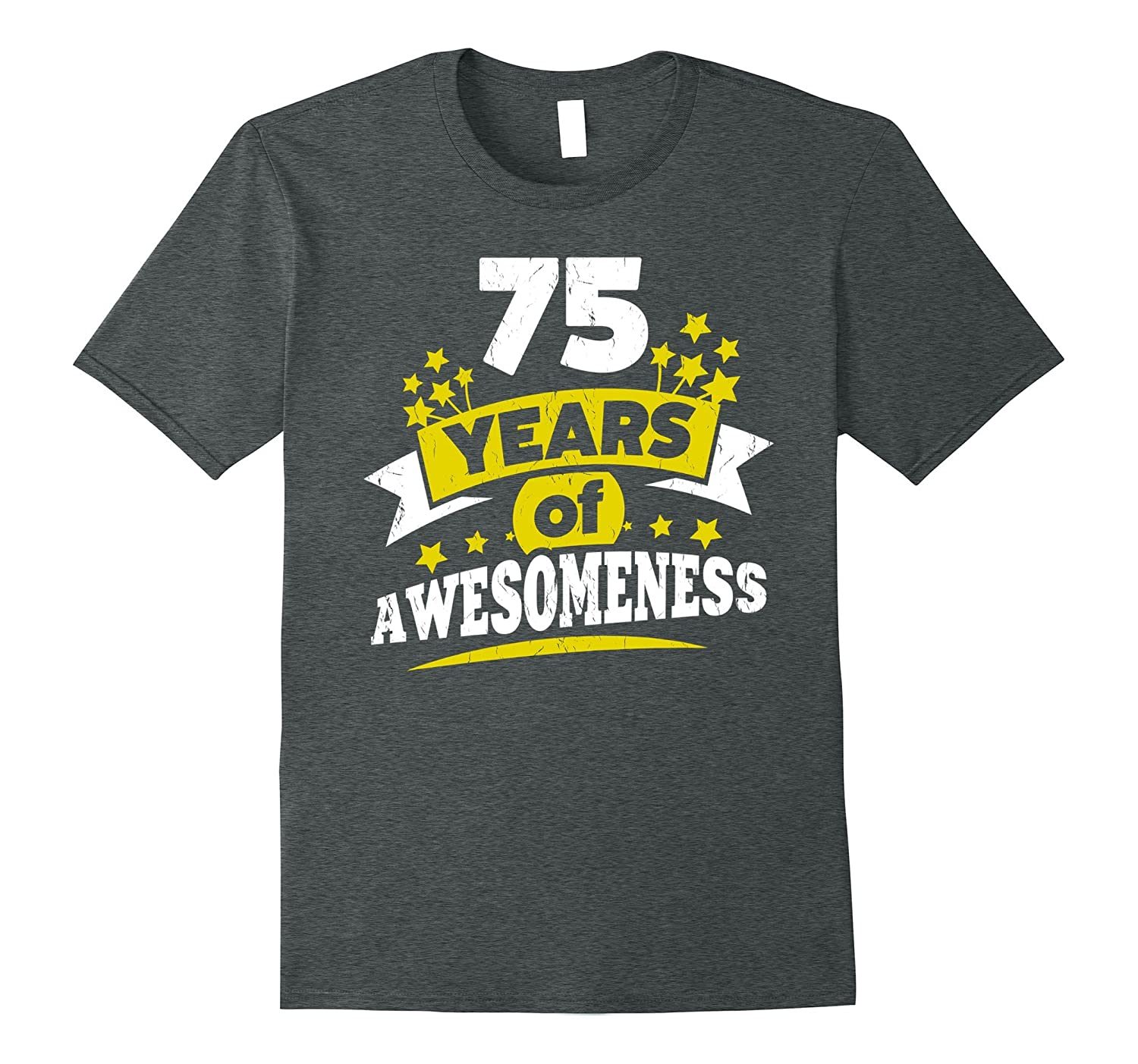 Birthday Gift For 75 Year Old Woman 75th Tee Shirt PL