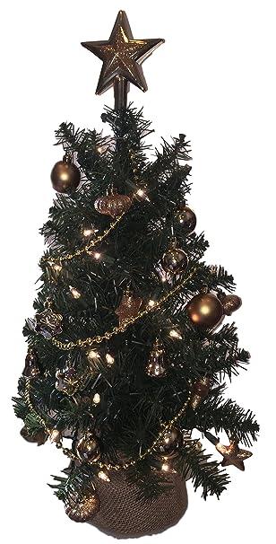 Eclectic Blackbird Small Artificial Christmas Tree Pre-lit - 24 inch  Evergreen Christmas Tree Pre - Amazon.com: Eclectic Blackbird Small Artificial Christmas Tree Pre