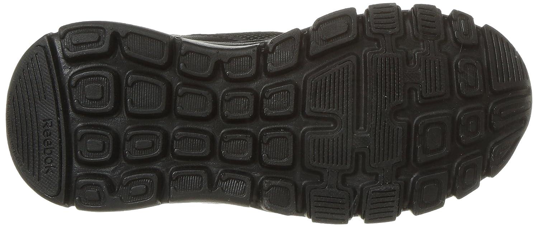 13.5 M US Little Kid Black//Alloy Reebok Unisex Yourflex Train 10 Sneaker