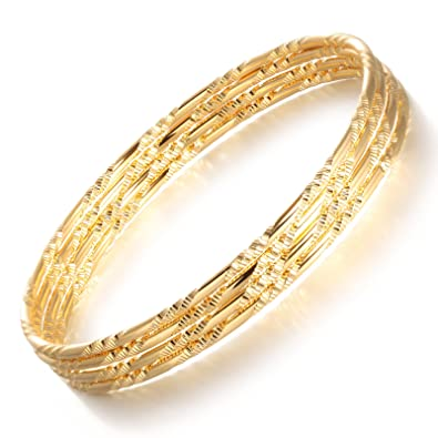edina kiss bangles twisted jewelry products gold twistedbangles bangle set of