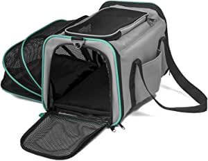 Pawdle Expandable and Foldable Pet Carrier Domestic Airline Approved