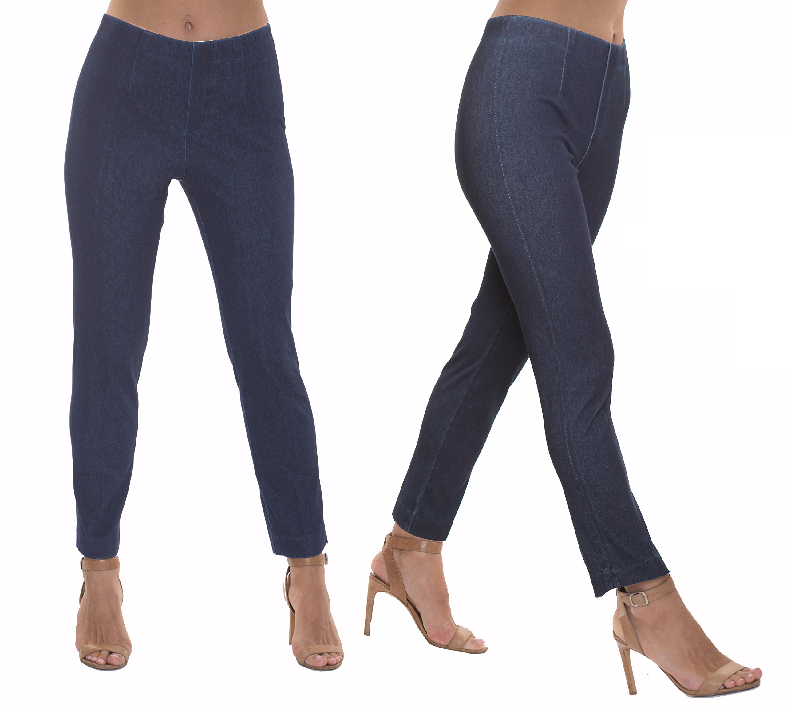 Lior Paris DENIM REINVENTED Sasha Denim Pants (Blue Denim,8) by Lior paris