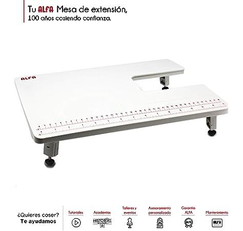 Alfa Máquina de Coser Practik 9, 34 Puntadas, Luz LED, Chasis ...
