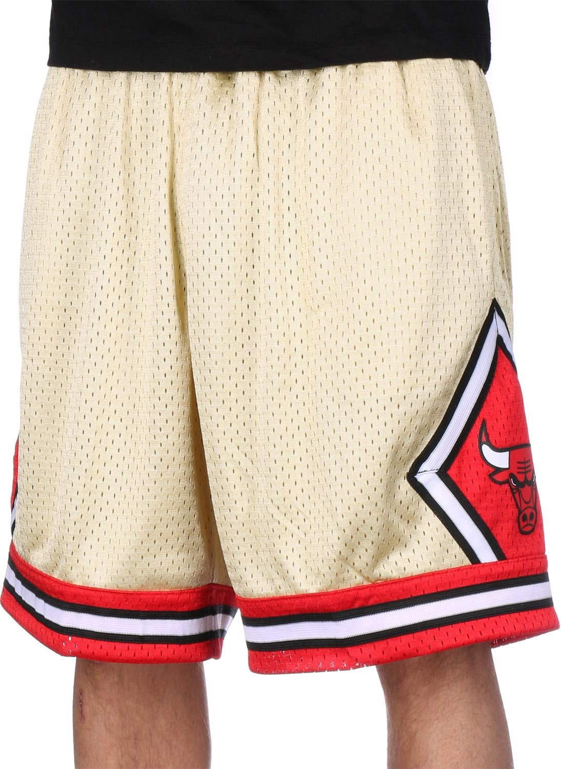 Mitchell & Ness Chicago Bulls 1997-98 Gold Collection NBA Shorts XXL