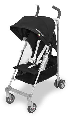 Maclaren Globetrotter - Silla de paseo ligera, de los 6 meses hasta los 25 kg, Asiento multiposición, Suspensión en las 4 ruedas, Capota extensible ...
