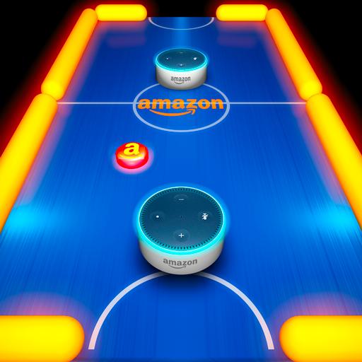 Glow Hockey, the Amazon Edition