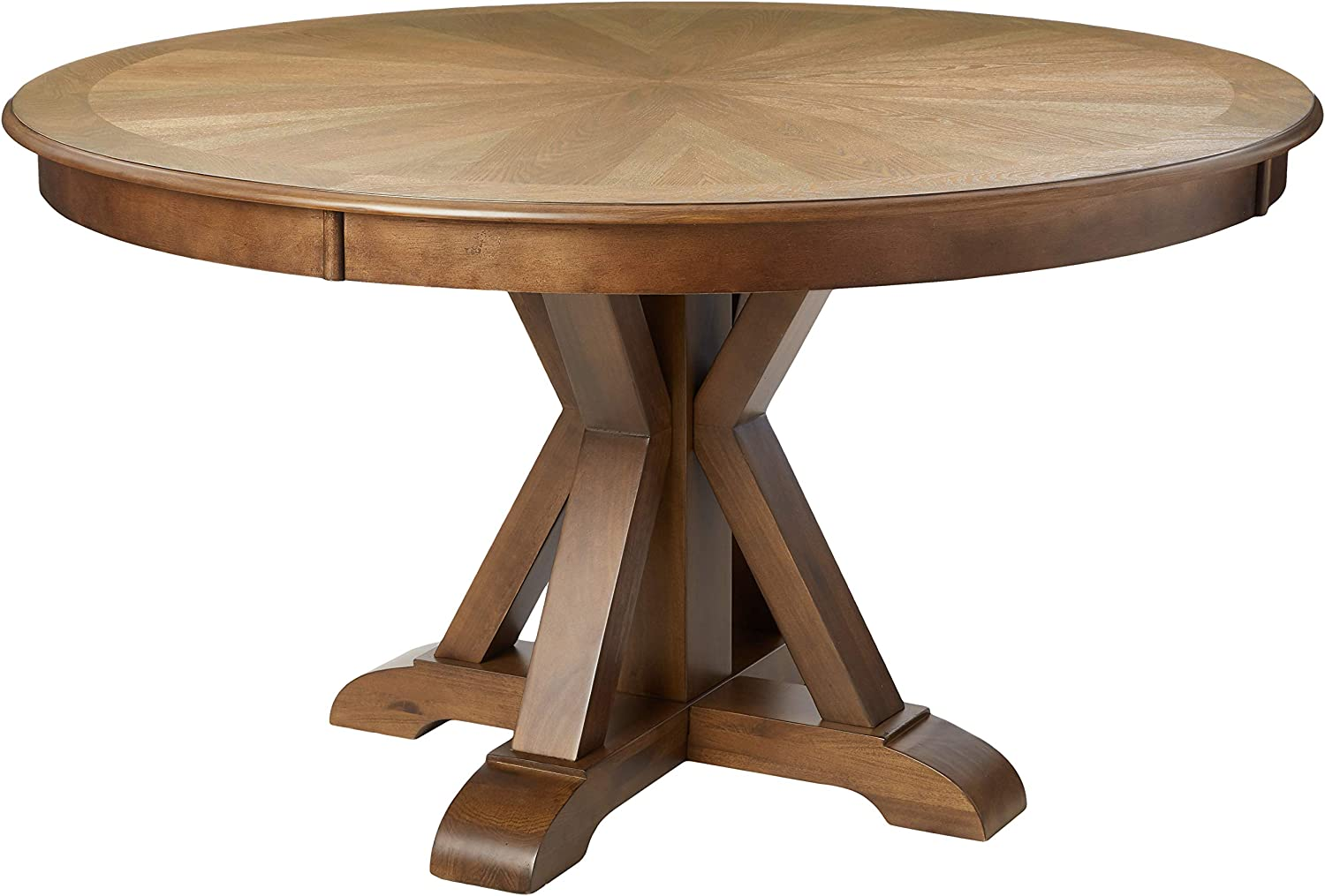 William's Home Furnishing CM3014RT Julia Dining Table, Oak