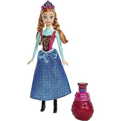 Disney Frozen Royal Color Change Anna Doll: Toys & Games