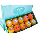 Bath Bombs Gift Set – Ten (10) Unique Scents in One Box – Aromatherapy – Lavender, Jasmine, Strawberry, Green Tea, Eucalyptus and More! Shea Butter for Moisturizing Dry Skin – Relaxation in a Box