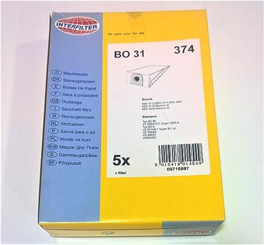 Bolsas aspiradora + microfiltro Bosch Siemens BBZ 4 AF 1/2 ...